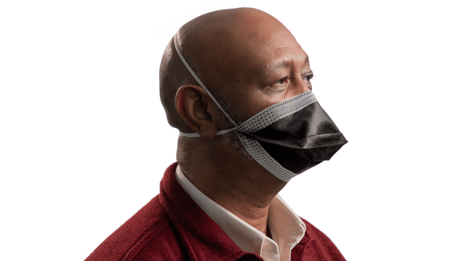 Man wearing blox98 sport face mask made in the usa